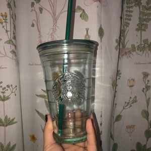 STARBUCKS GLASS COLD CUP